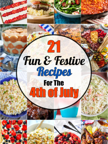 21 fun and festive recipes for the 4th of july.