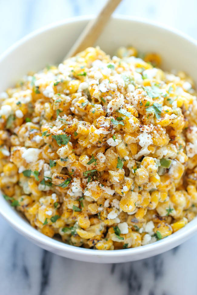 Mexican Corn Dip for 4th of july celebreation