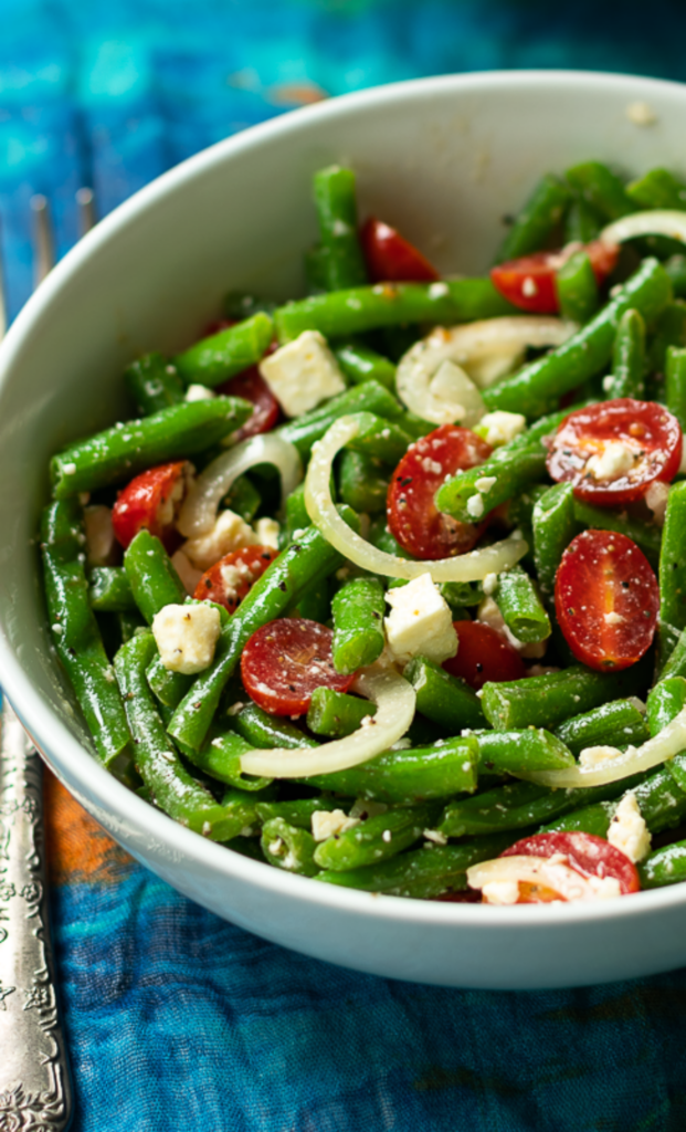 Green bean salad for 4th of july celebreation